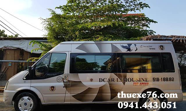Thuê xe 16 chỗ sân bay Chu Lai đi Sa Kỳ