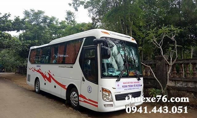Thuê xe 29 chỗ sân bay Chu Lai đi Sa Kỳ