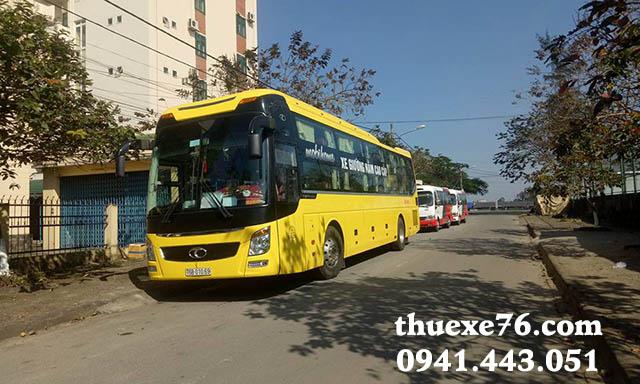 Thuê xe 45 chỗ sân bay Chu Lai đi Sa Kỳ