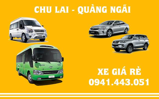 Xe Chu Lai đi Quảng Ngãi
