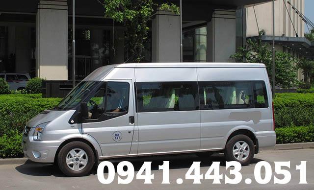 Cho thuê xe 16 chỗ Ford Transit tại Quảng Ngãi
