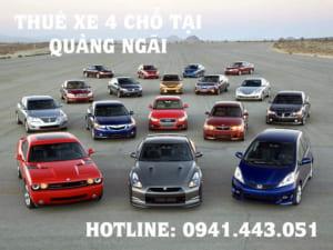 Thuê xe 4 chỗ tại Quảng Ngãi