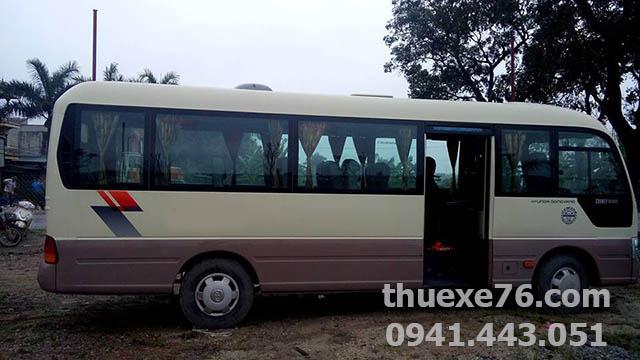 Xe Huyndai Couty 30 chỗ tại Quảng Ngãi