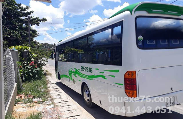 Xe Isuzu Samco 30 chỗ tại Quảng Ngãi