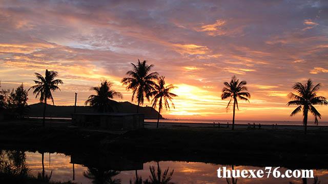 Nắng lên ở Sa Huỳnh