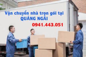 Vận chuyển nhà trọn gói tại Quảng Ngãi
