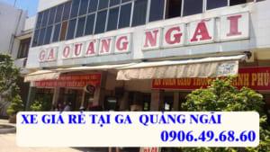 Xe đưa đón tại Ga Quảng Ngãi