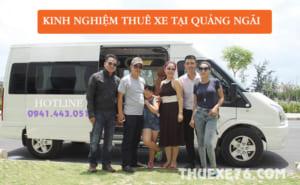 Kinh nghiệm thuê xe tại Quảng Ngãi