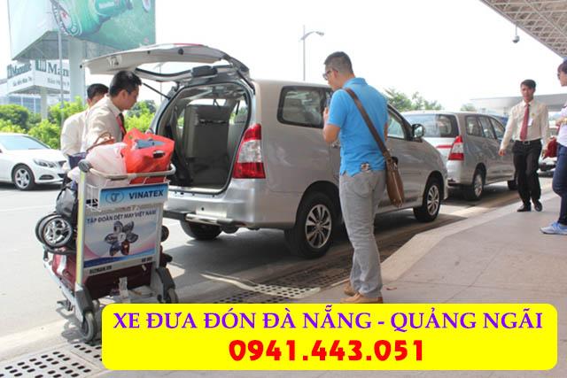 Taxi từ Đà Nẵng về Quảng Ngãi