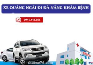 Xe Quảng Ngãi đi Đà Nẵng khám bệnh