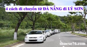 4 cách di chuyển từ Đà Nẵng đi Lý Sơn