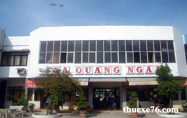 Đi tàu từ Ga Đà Nẵng đến Ga Quảng Ngãi