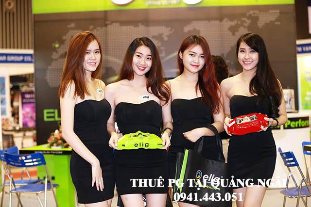 PG hội chợ tại Quảng Ngãi