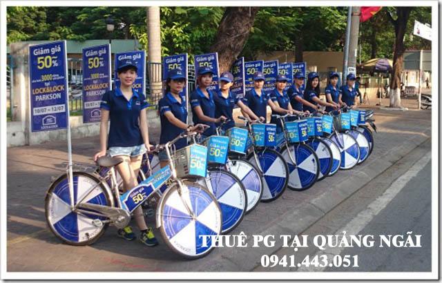 Thuê PG roadshow tại Quảng Ngãi