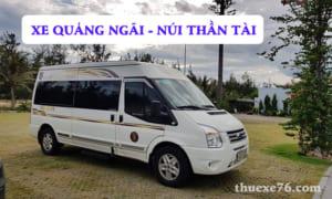 Xe Quảng Ngãi đi Núi Thần Tài