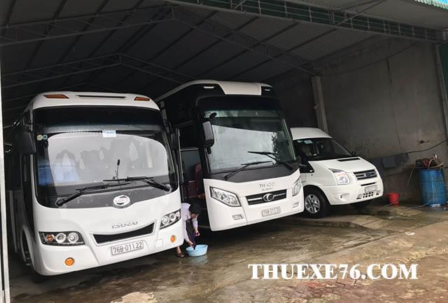 Thuê xe 45 chỗ tại Quảng Ngãi đời mới 2019