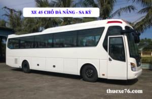 Thuê xe 45 chỗ Đà Nẵng đi Cảng Sa Kỳ