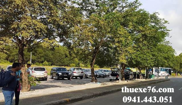 THUEXE76 cho thuê xe tại sân bay Chu Lai