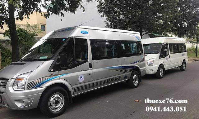 Thuê xe 16 chỗ sân bay Đà Nẵng đi Cảng Sa Kỳ