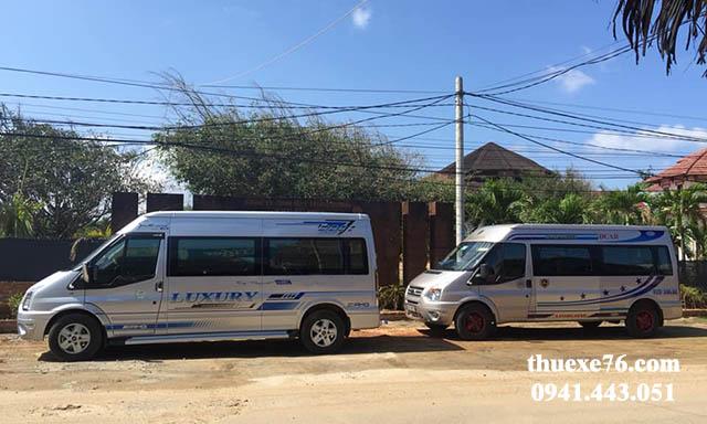 Xe 16 chỗ Ford Transit Đà Nẵng đi Cảng Sa Kỳ