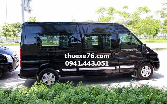 Thuê xe 9 chỗ tại Quảng Ngãi