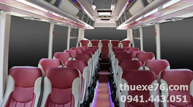 Dàn ghế Samco 29 chỗ tại Quảng Ngãi