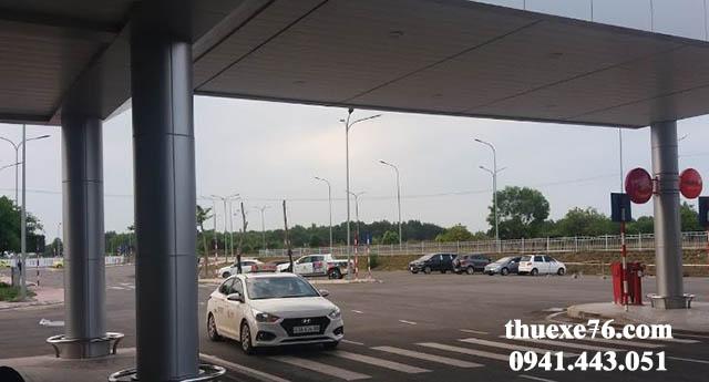 Taxi sân bay Chu Lai đi Sa Kỳ giá rẻ
