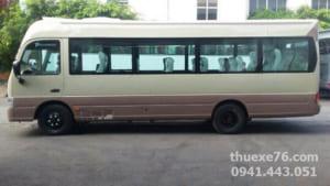 Thuê xe 29 chỗ Huyndai Couty du lịch tại Quảng Ngãi