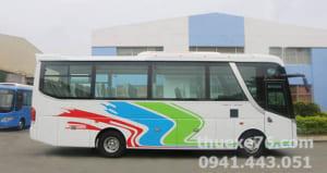 Thuê xe 29 chỗ Isuzu Samco tại Quảng Ngãi