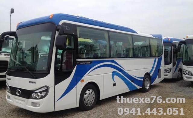 Thuê xe 29 chỗ Thaco Town tại Quảng Ngãi