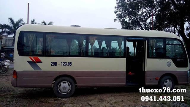 Thuê xe Huyndai Couty 2014 tại Quảng Ngãi
