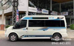 Kinh nghiệm thuê xe 16 chỗ tại Quảng Ngãi