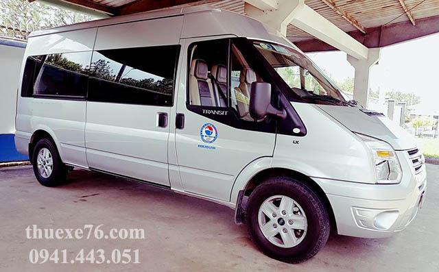 Xe Ford lựa chọn thích hợp khi thuê xe tại Quảng Ngãi
