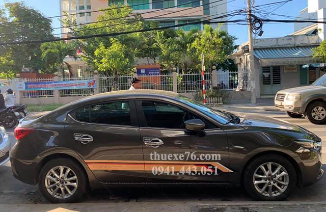 Thuê xe 4 chỗ sân bay Chu Lai đi Biển Mỹ Khê