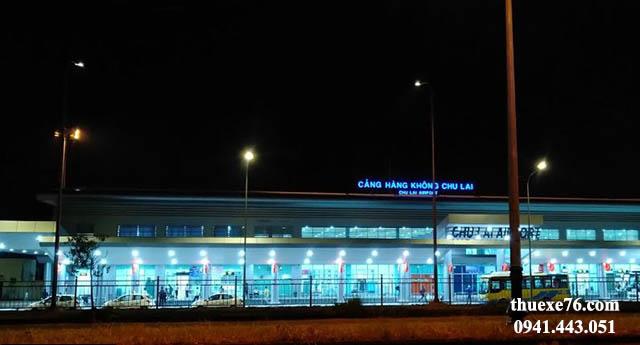 Đưa đón sân bay Chu Lai mọi lúc