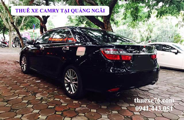 Thuê xe Camry tại Quảng Ngãi