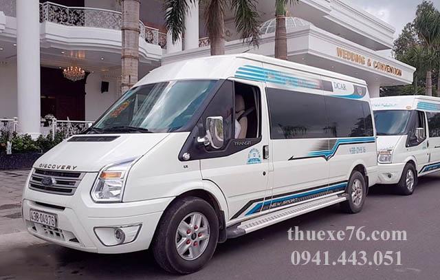 Thuê xe 16 chỗ Đà Nẵng đi Lý Sơn