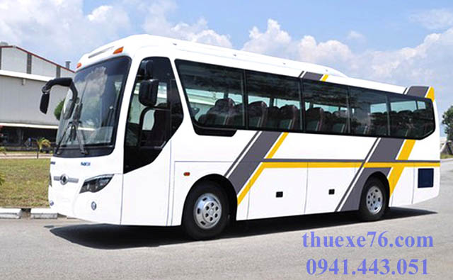 Thuê xe du lịch 29 chỗ tại Quảng Ngãi gần và xa