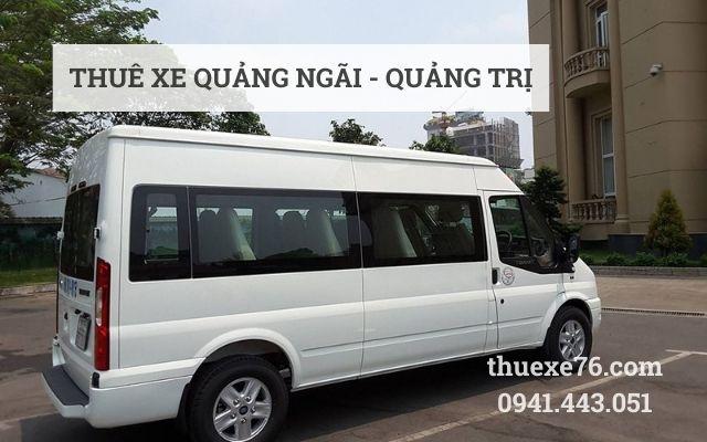 Cho thuê xe Quảng Ngãi đi Quảng Trị