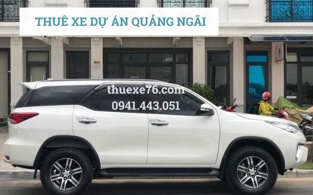 Thuê xe dự án Quảng Ngãi