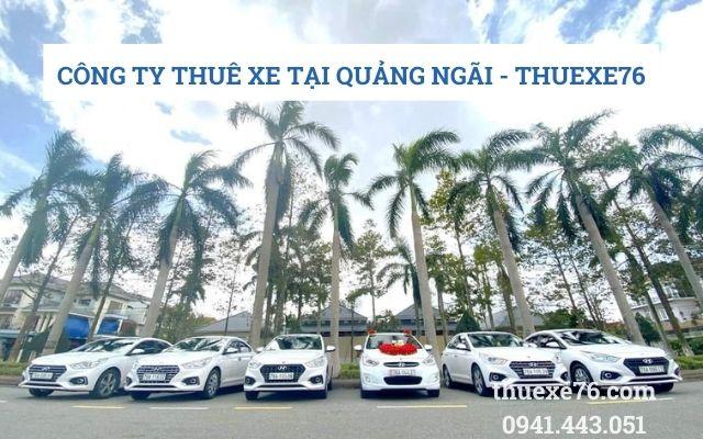 Công ty thuê xe tại Quảng Ngãi