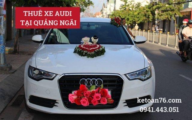 Thuê xe audi tại Quảng Ngãi