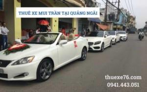 Thuê xe mui trần tại Quảng Ngãi