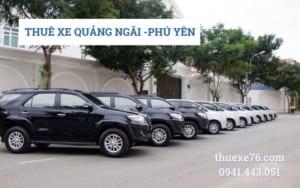 Thuê xe Quảng Ngãi đi Phú Yên