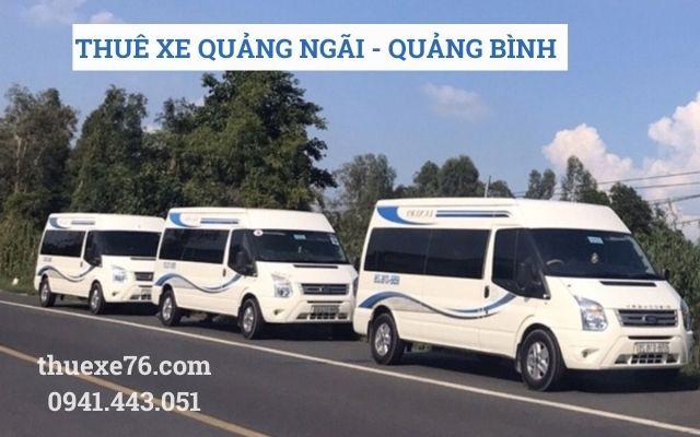 Thuê xe Quảng Ngãi đi Quảng Bình