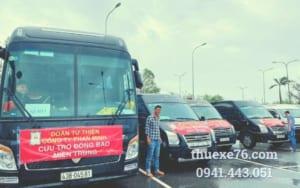 Thuê xe phục vụ sự kiện tại Quảng Ngãi