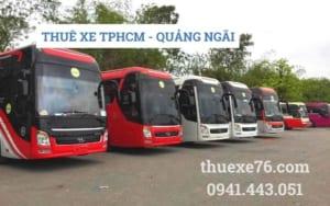Thuê xe TPHCM - Quảng Ngãi tết âm lịch