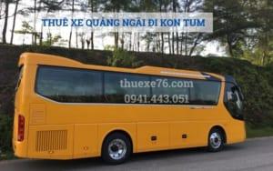 Thuê xe Quảng Ngãi đi Kon Tum