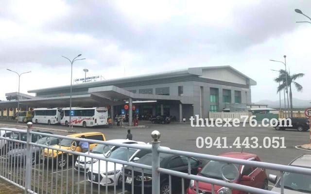 Taxi sân bay Chu Lai về Quảng Ngãi