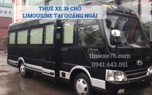 Thuê xe 35 chỗ Limousine tại Quảng Ngãi